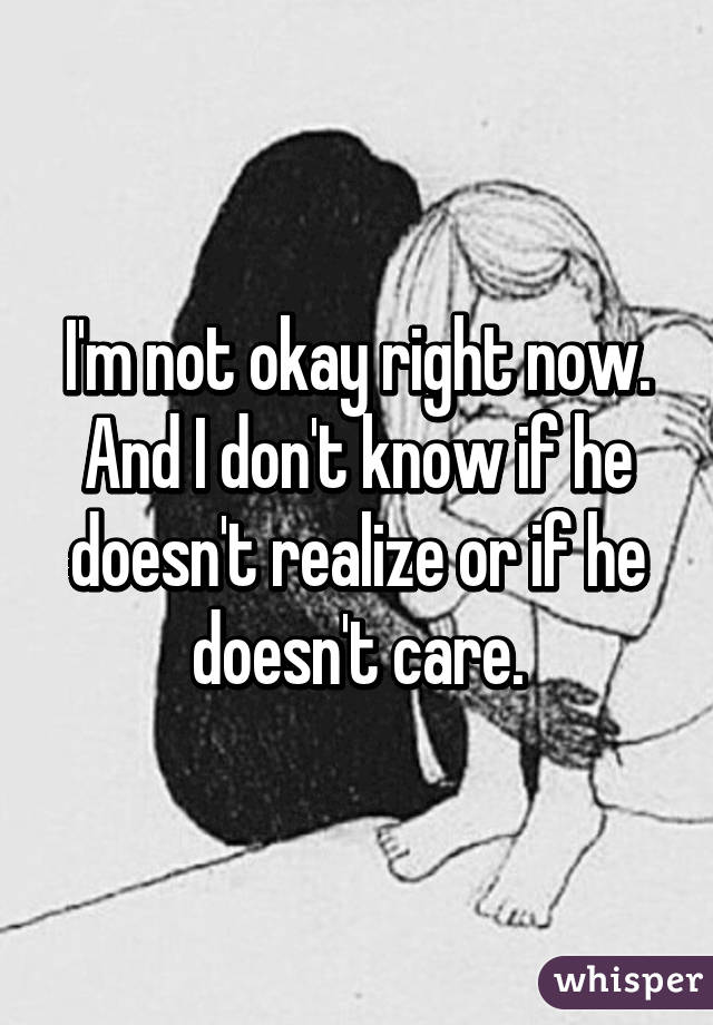 Signs He Doesn T Care About You