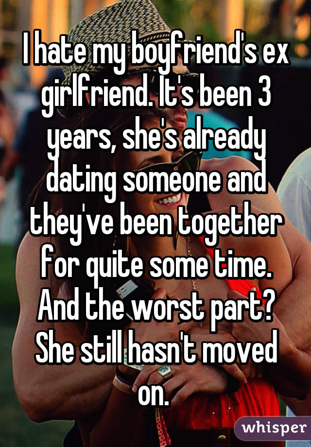 Ex Girlfriend Dating Already