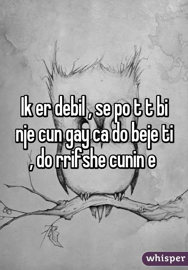 Gay cun