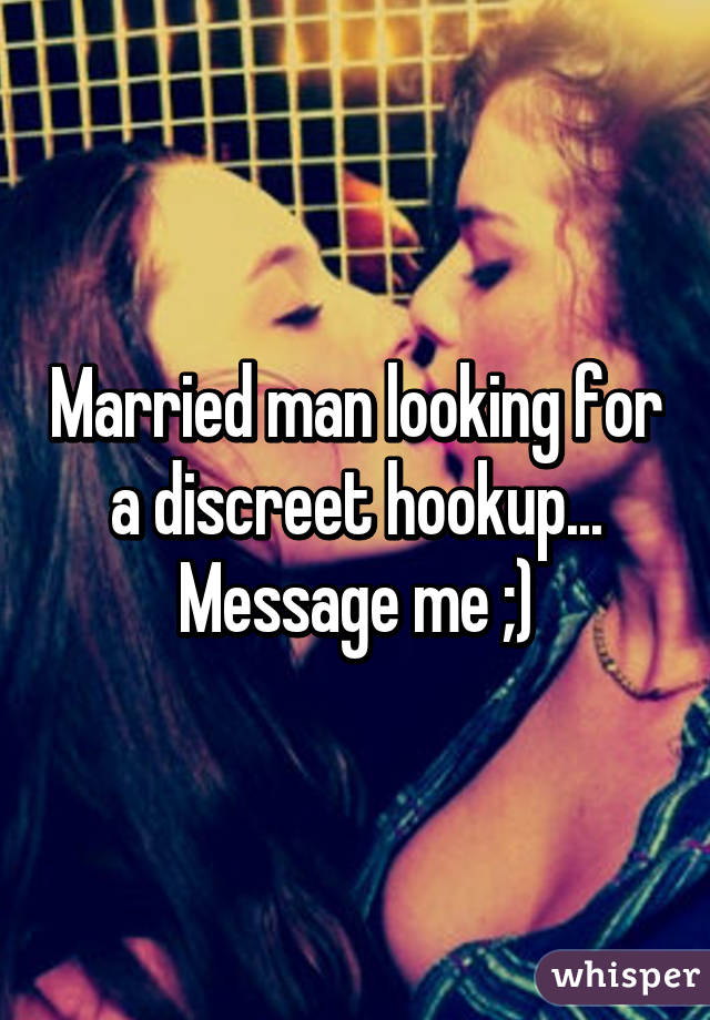 With Hookup Married Man Wrong A What