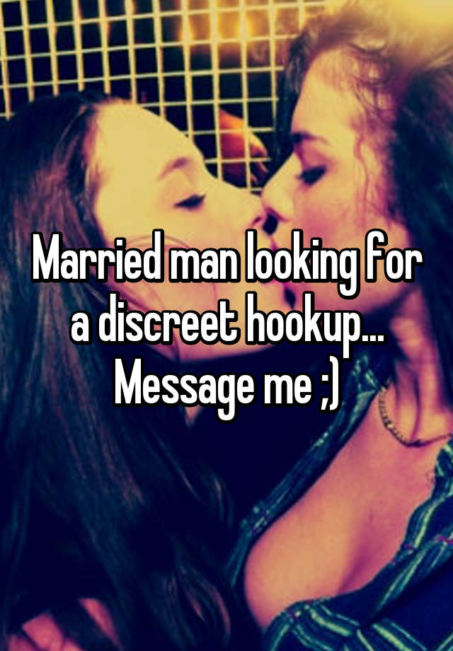 What to do about hookup a married man