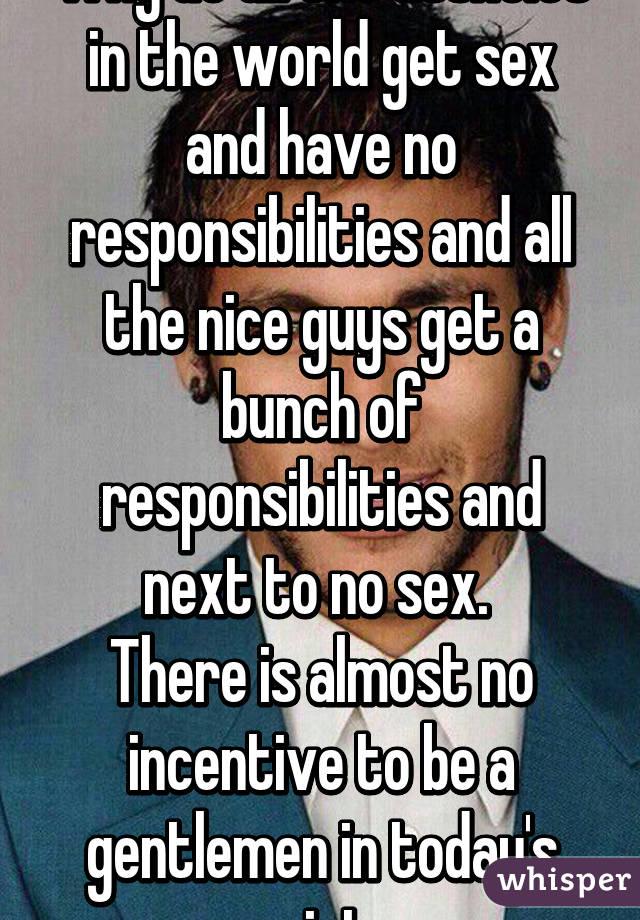 Sex responsibilities