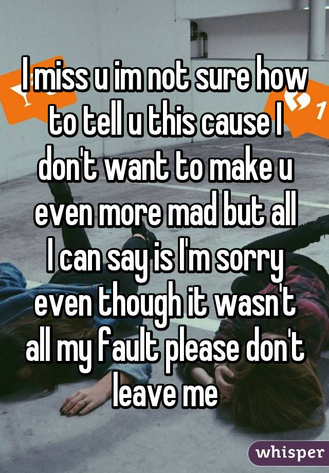 Miss u much more
