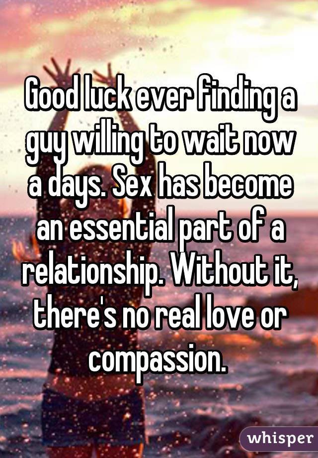no luck in finding love