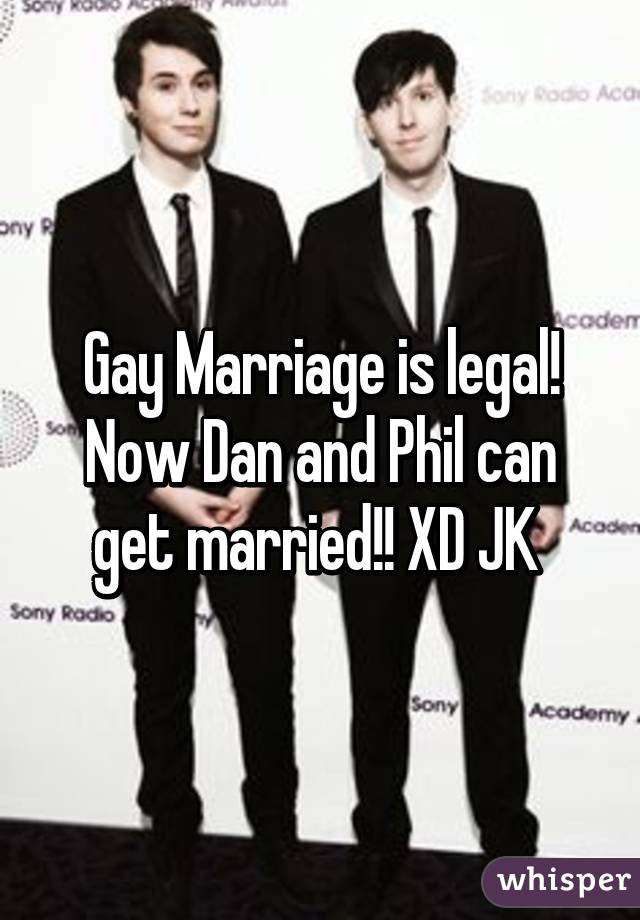 are dan and phil married