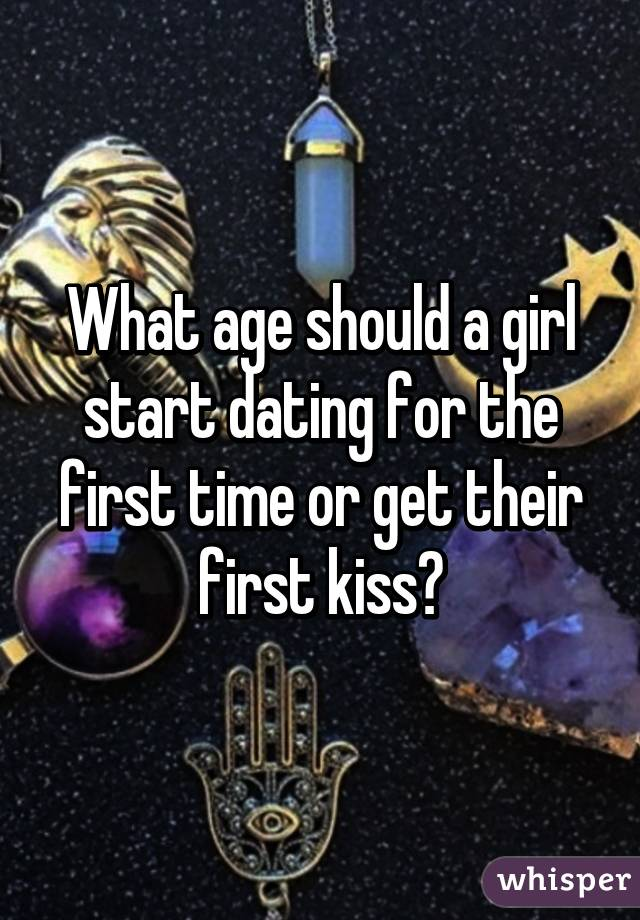 Dating for the first time ever