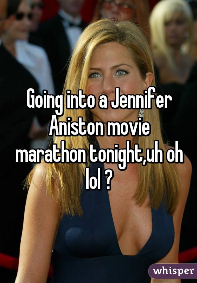 Going into a Jennifer Aniston movie marathon tonight,uh oh lol 😍