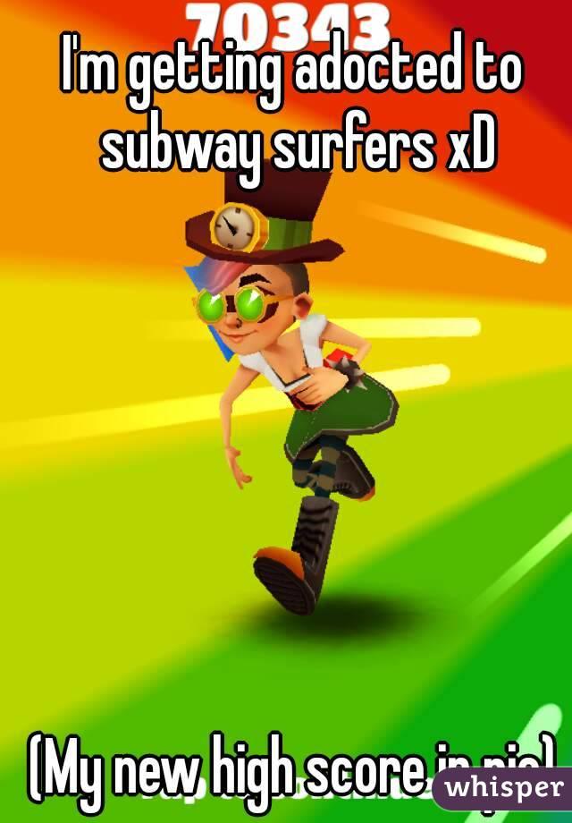 high score subway surfers