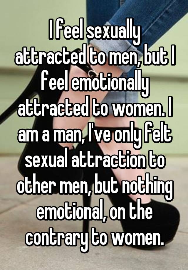Man attractive How be a emotionally to to