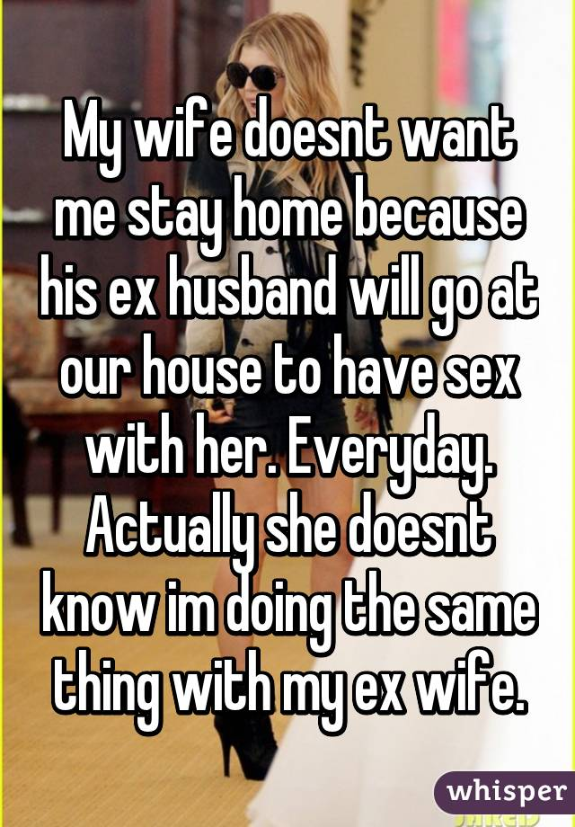 Wife wants sex everyday