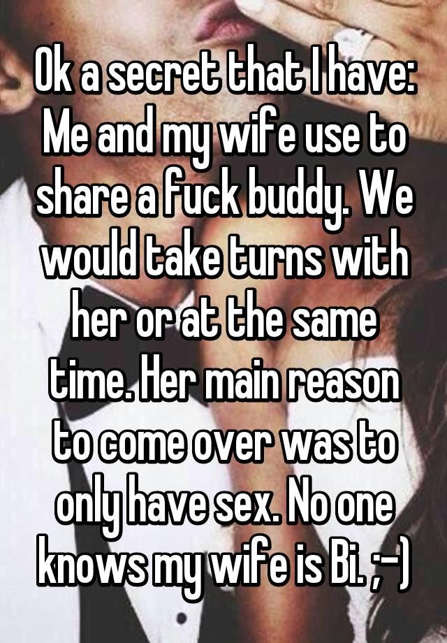 Take turns fucking my wife caption
