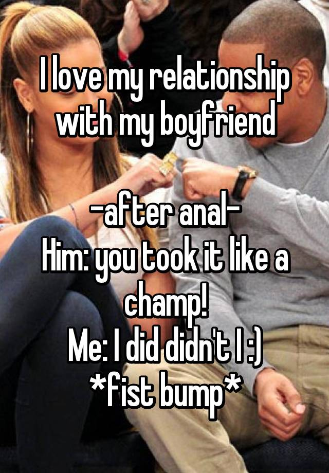I Love Anal Meme