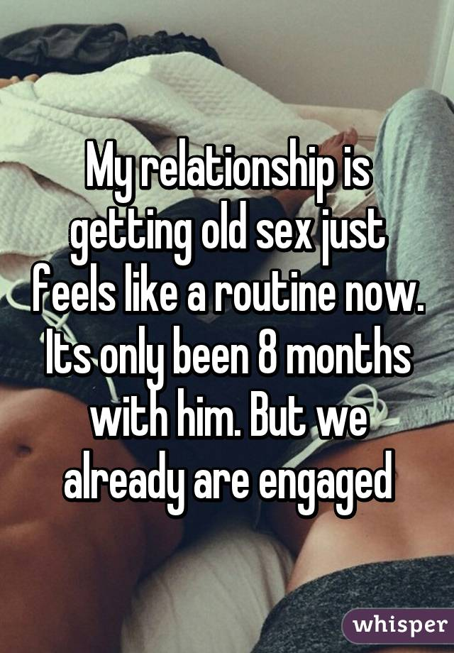Feels like relationship is only sex