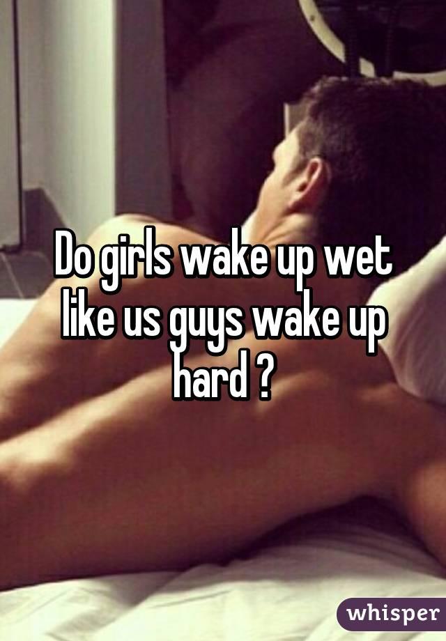 Why do men wake up hard