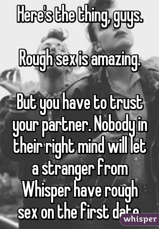 Незнакомый партнер по сексу