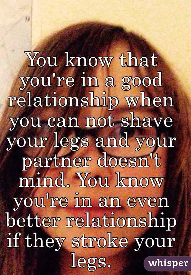 How You Know You Re In A Good Relationship