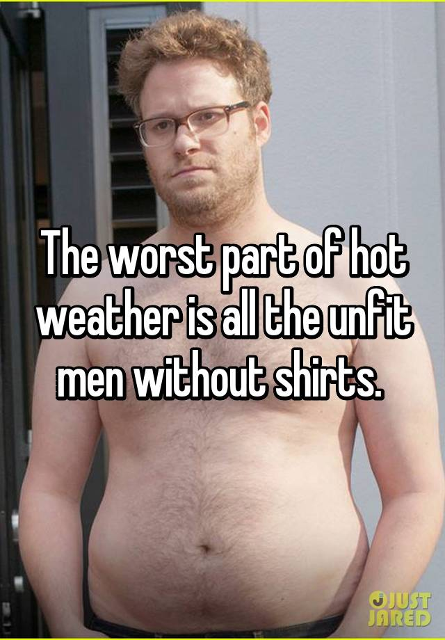 Pics of guys without shirts