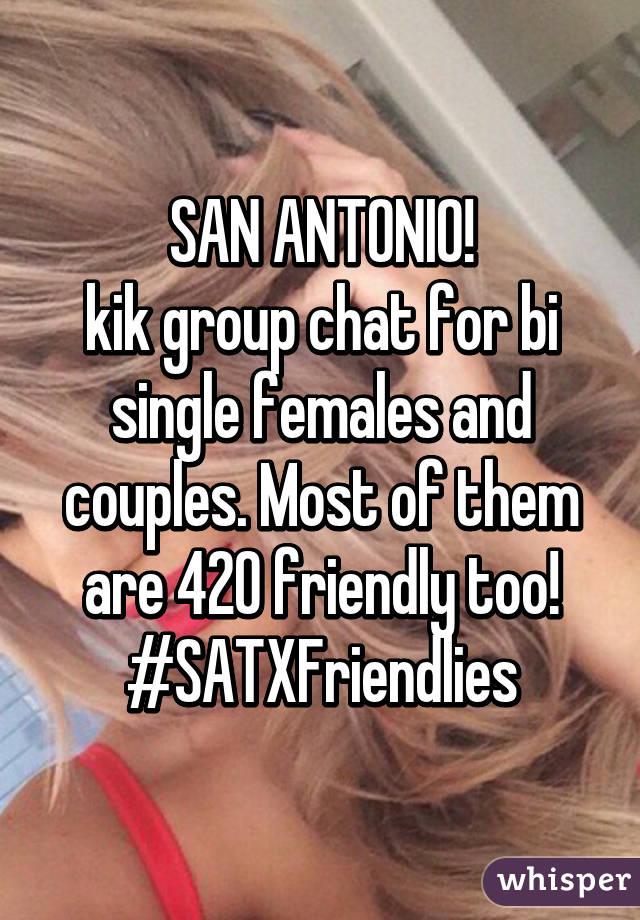 San antonio kik groups