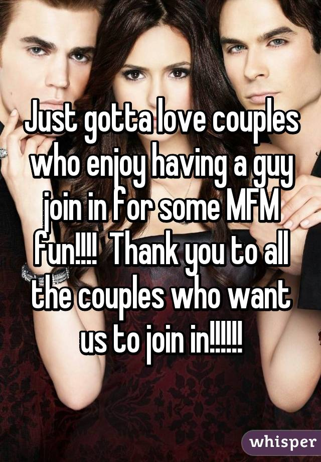 Just Gotta Love Couples Who Enjoy Having A Guy Join In For Some Mfm Fun