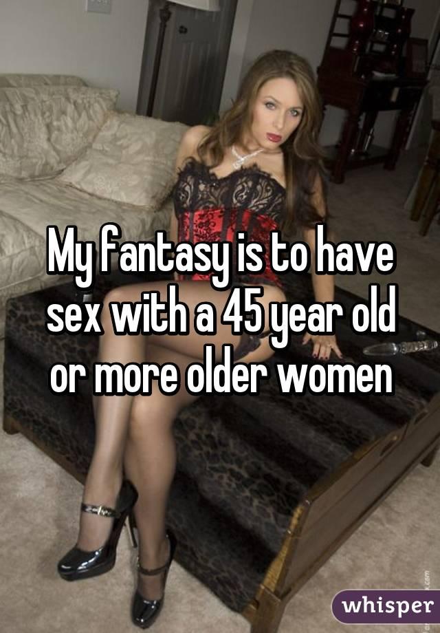 Fantasy mature lady