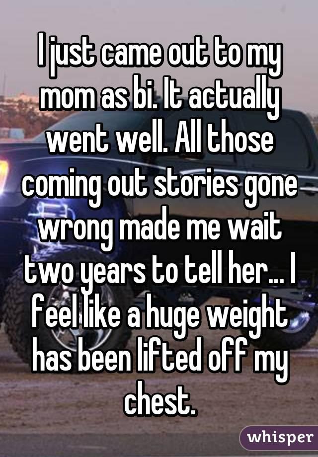 Just bi stories