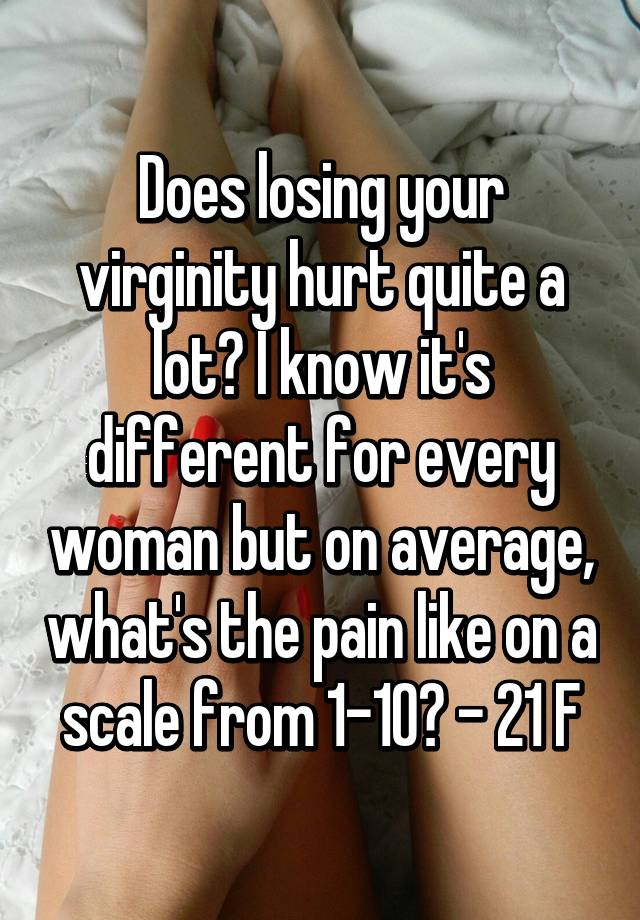 How painful is losing your virginity, fuck that pussy she cried