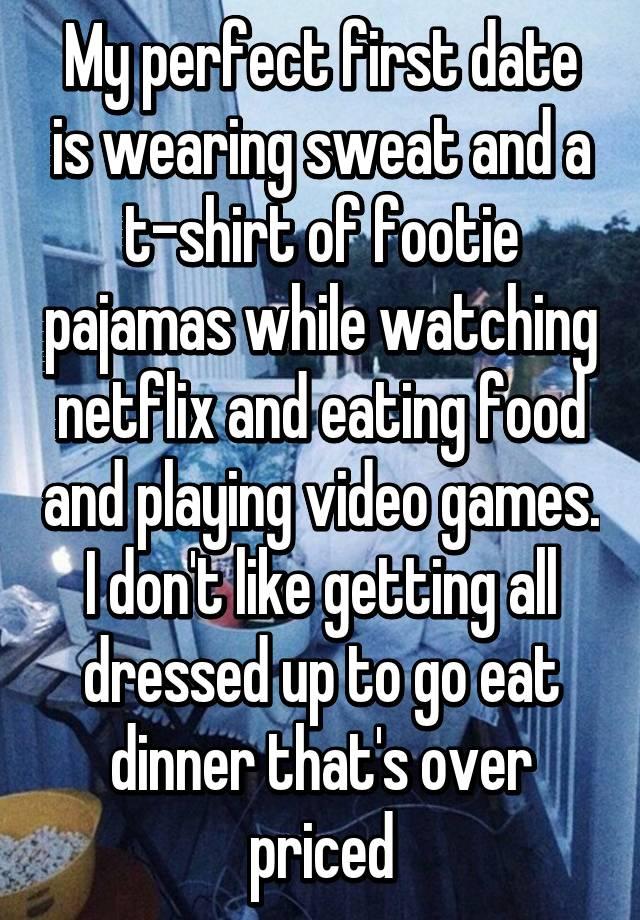 My ideal date description
