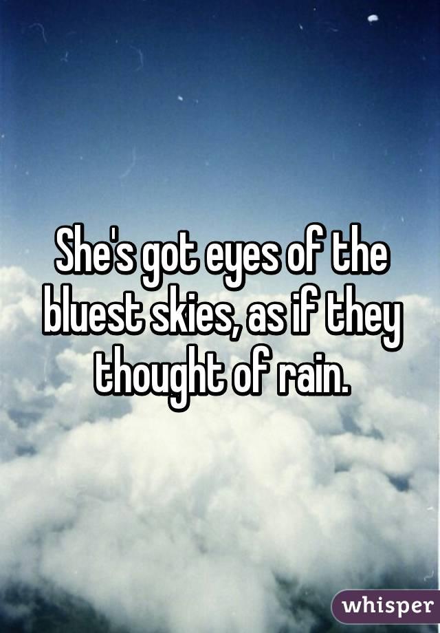 The Bluest Skies