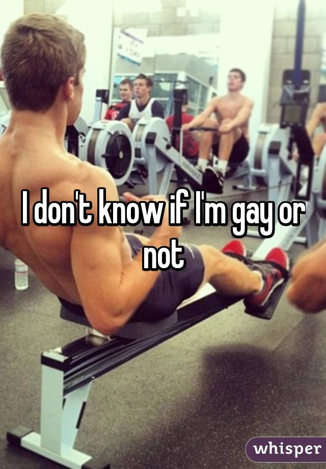 How To Know If I M Gay