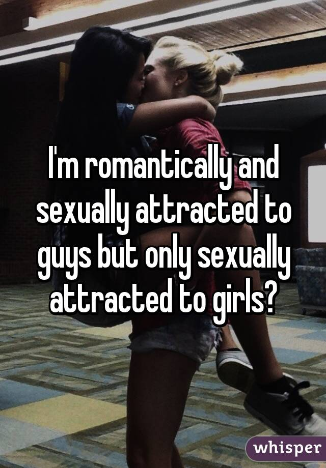 Only sexually attracted to guys