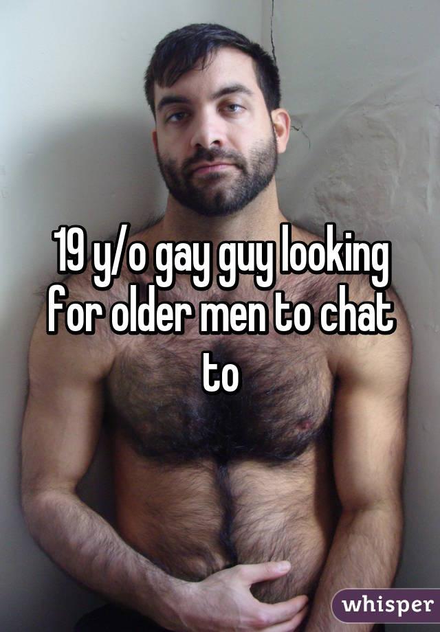 Looking for older gay men