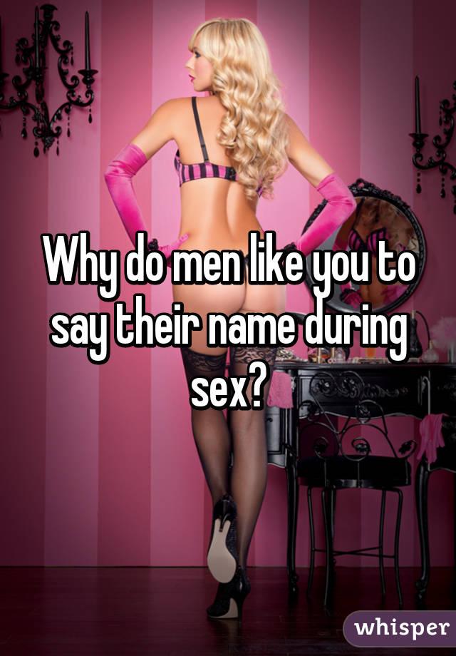 What men enjoy in sex