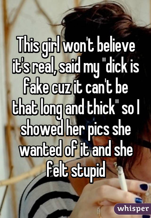 My Dick Is Long