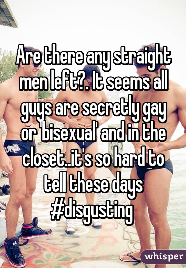 Are all men gay