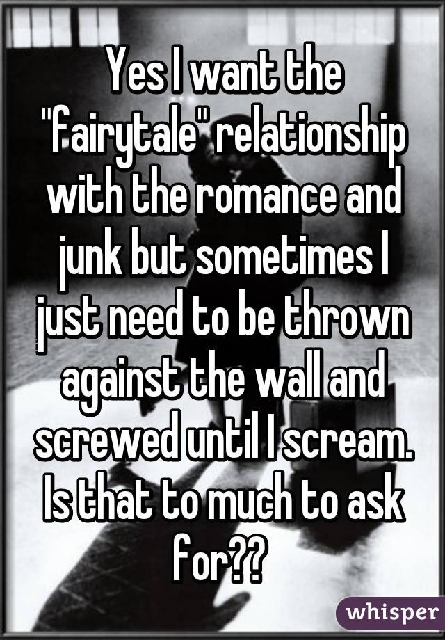 i want romance