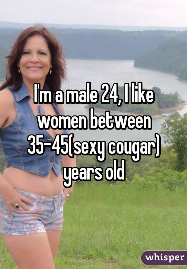45 Year Old Cougar