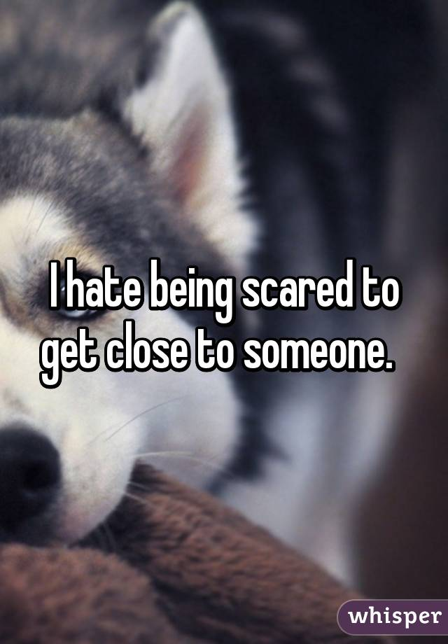 being close to someone