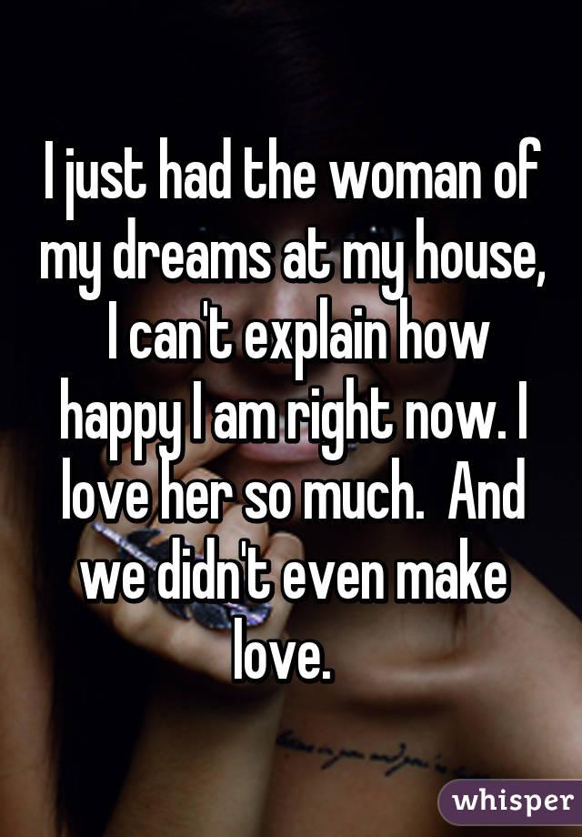 Woman of my dreams