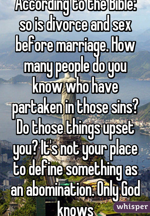 Is divorce a sin according to the bible