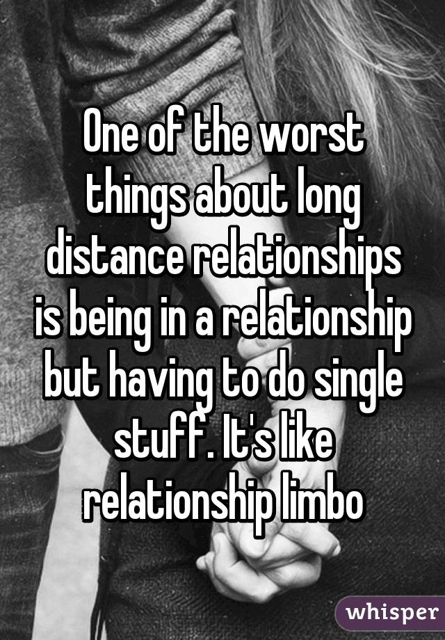 Relationship in limbo