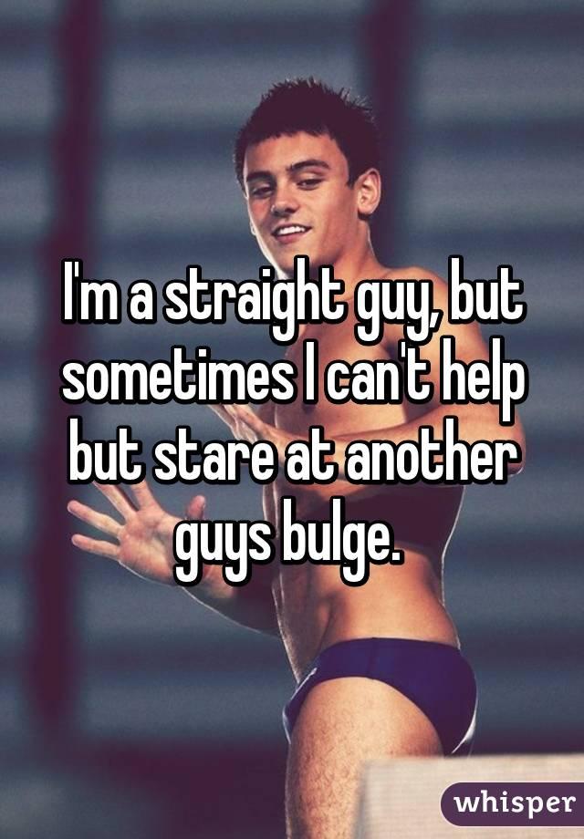 Straight Guy Bulge