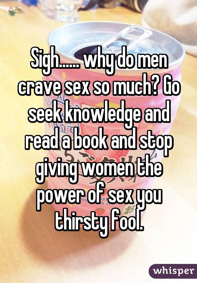 Why do i crave sex