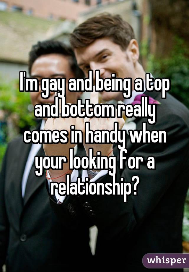 Im a bottom dating a bottom