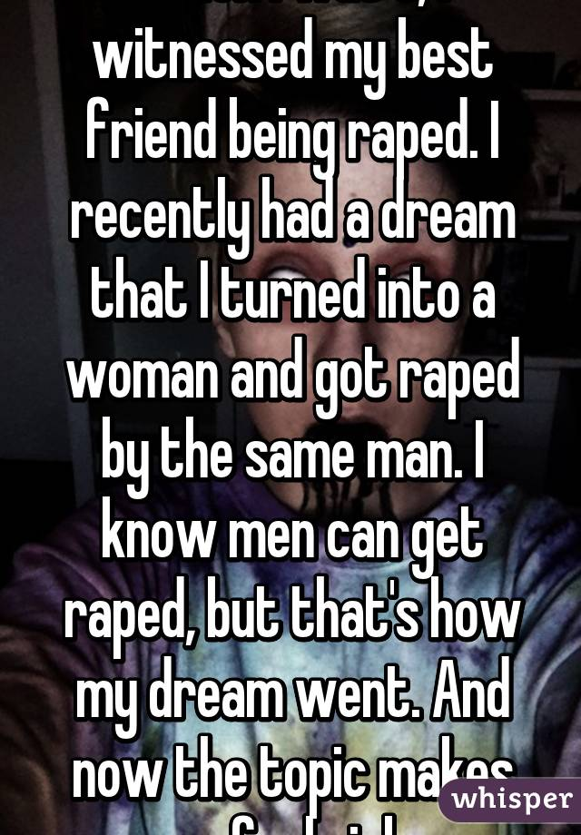 Does To What Raped Being It Mean Of Dream