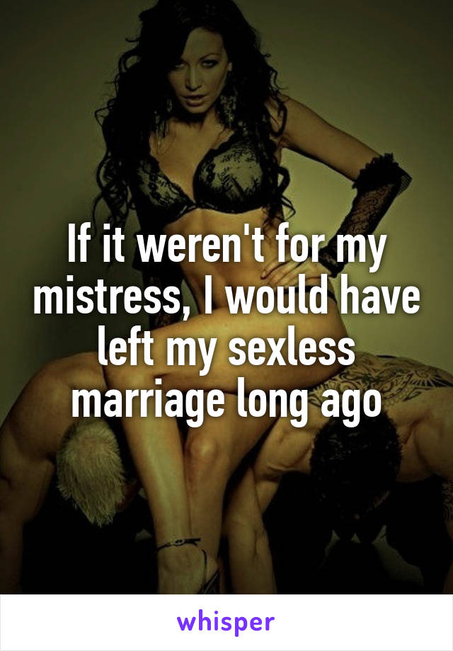 my sexless marriage