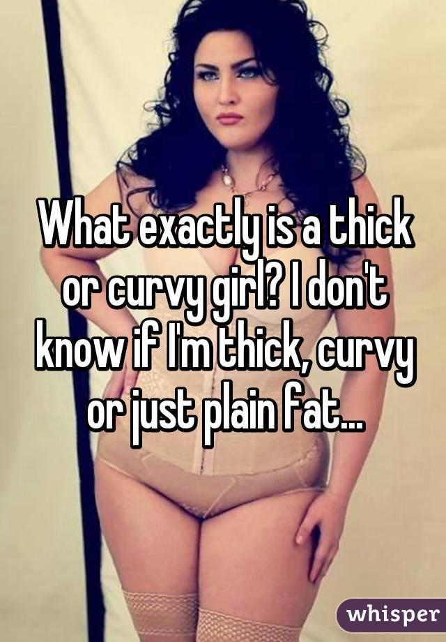 curvy Short thick