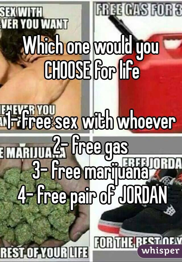 Free one sex