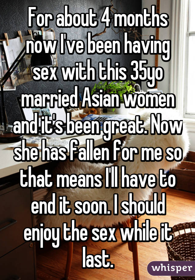 She had sex with me