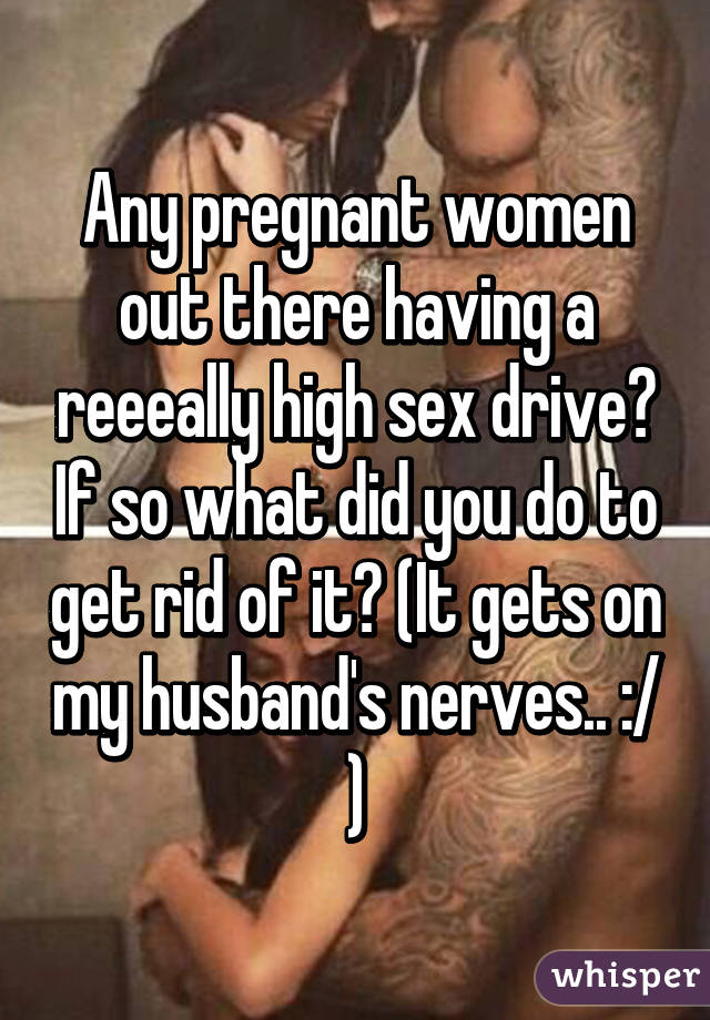 What is considered a high sex drive for a woman