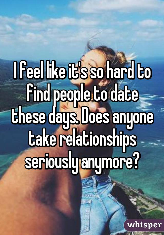 Find someone to date